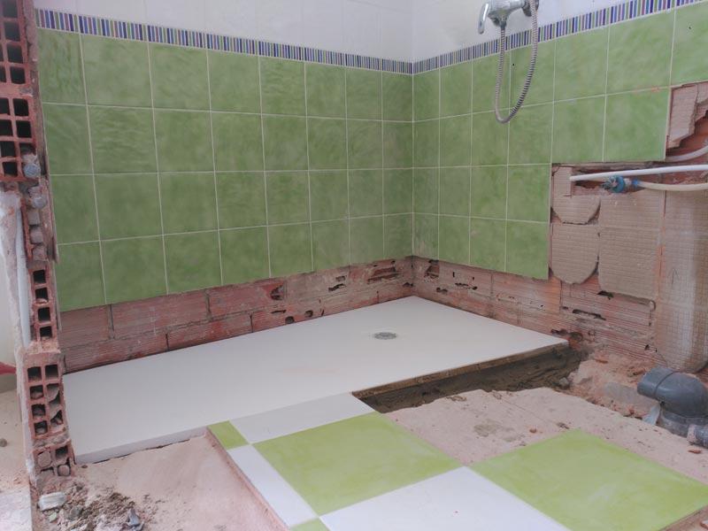 Reforma en baño y aseo